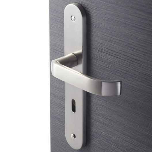 Comment changer une poign e de porte d 39 int rieur leroy for Remplacement porte interieur