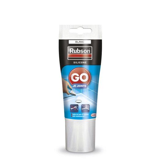 silicone rubson, blanc, 50 ml | leroy merlin