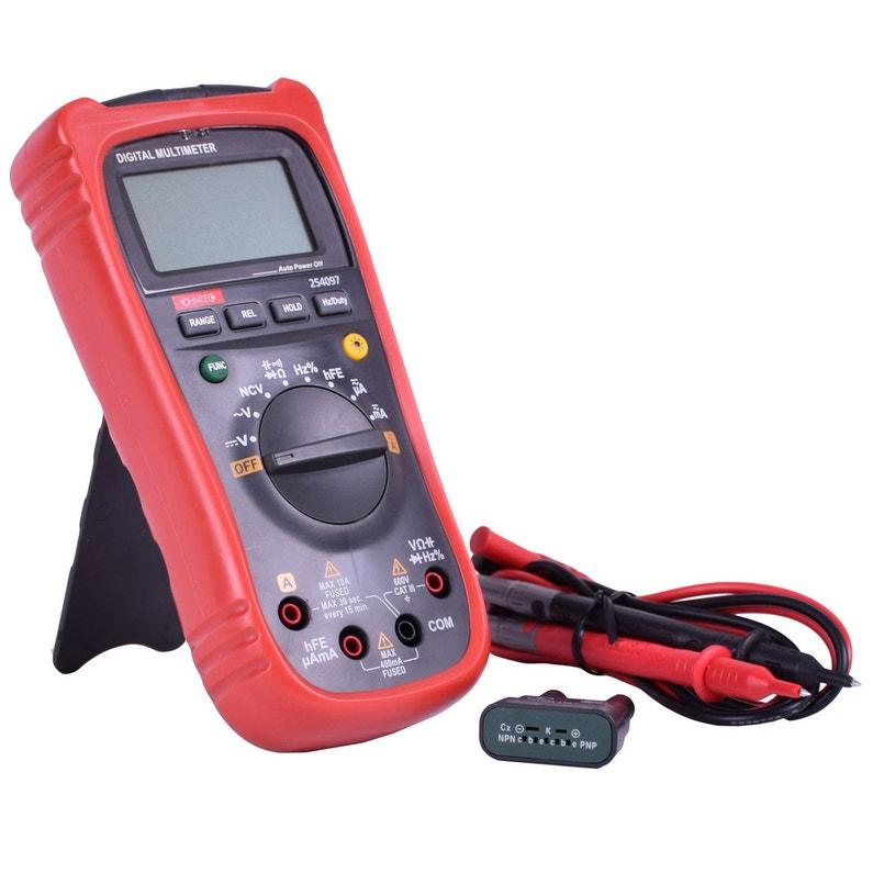 Multimètre Ohmtec 600 V