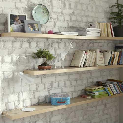 etagere murale fait maison finest latest tagre murale. Black Bedroom Furniture Sets. Home Design Ideas