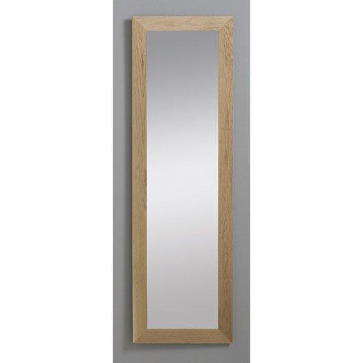 Miroir nakato inspire ch ne 30x120 cm leroy merlin for Miroir 50 x 60