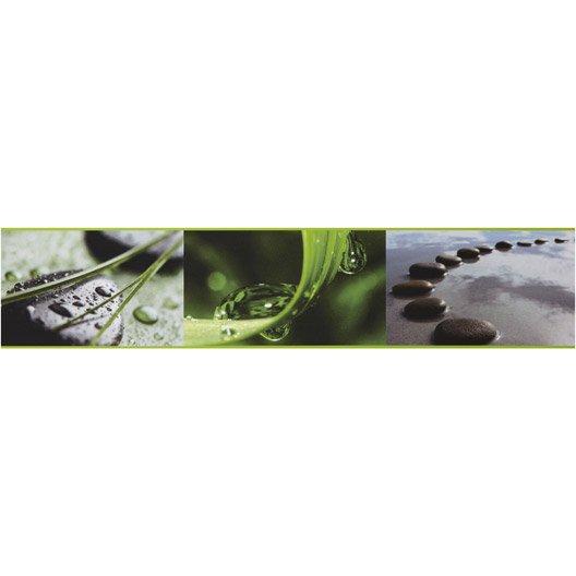 Frise Vinyle Adh Sive Galets Zen L 5 M X Cm Leroy Merlin