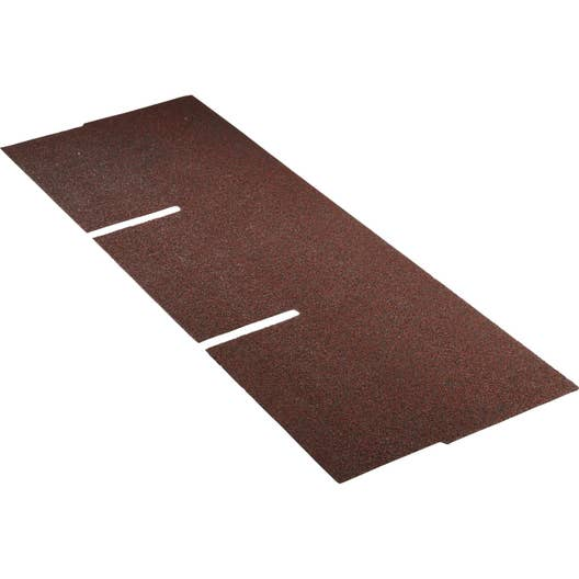 bardeau rouge top shingle x 1m leroy merlin. Black Bedroom Furniture Sets. Home Design Ideas