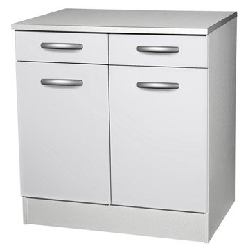 Meuble de cuisine 1er prix spring meuble haut bas et for Meuble bas de salle de bain 2 portes grimsby