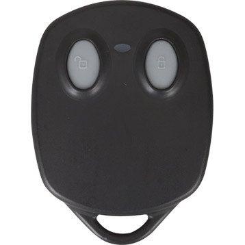 Télécommande 2 boutons pour alarme maison EVOLOGY noir