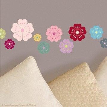 Sticker Flower power 15 cm x 23.5 cm