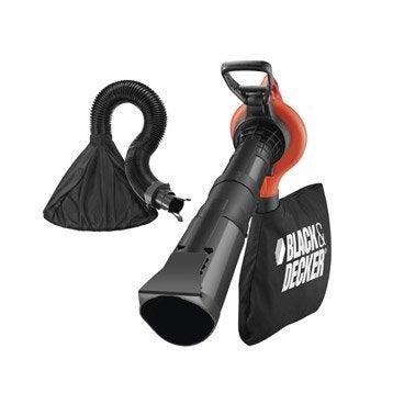 Aspirateur souffleur broyeur électrique BLACK & DECKER Gw3050