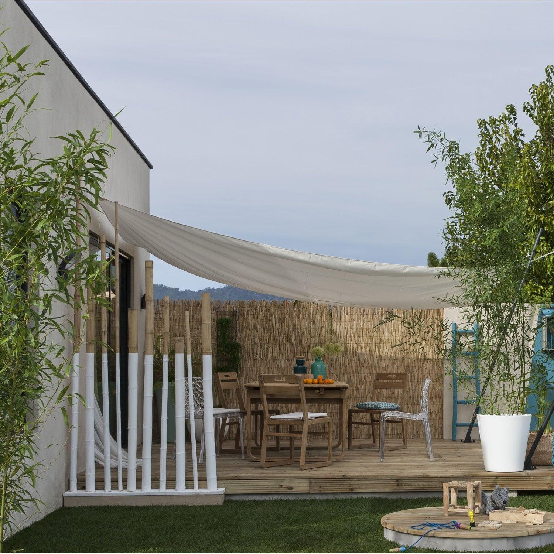 voile-d-ombrage-rectangulaire-blanc-ivoire-n-5-l-400-x-l-300-cm Frais De toile Parasol Concept