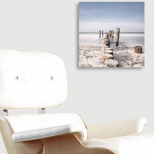 verre imprim soft sea spray deco glass x cm. Black Bedroom Furniture Sets. Home Design Ideas