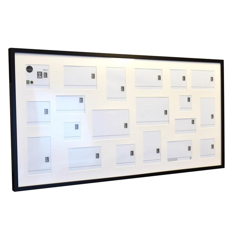 Cadre Multivue Milo 50 X 100 Cm Noir
