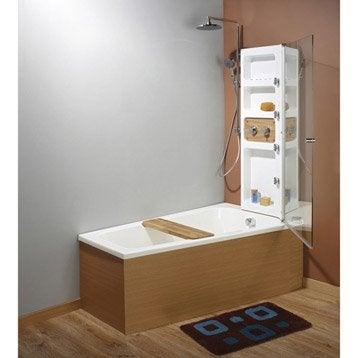 baignoire porte baignoire douche baignoire leroy merlin. Black Bedroom Furniture Sets. Home Design Ideas