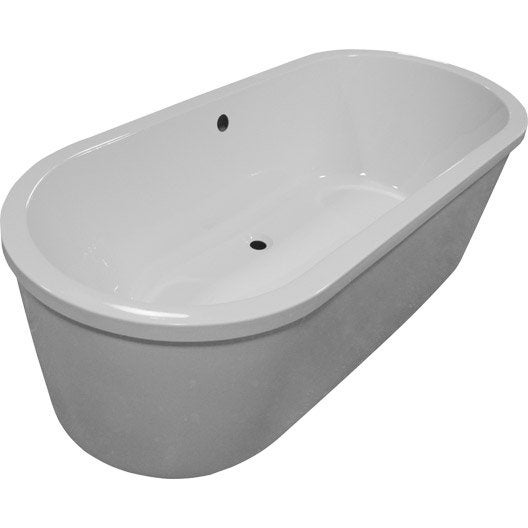tablier de baignoire cm blanc osaka leroy merlin. Black Bedroom Furniture Sets. Home Design Ideas