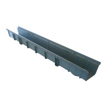 Caniveau polypropylène l.13 cm L.1 m