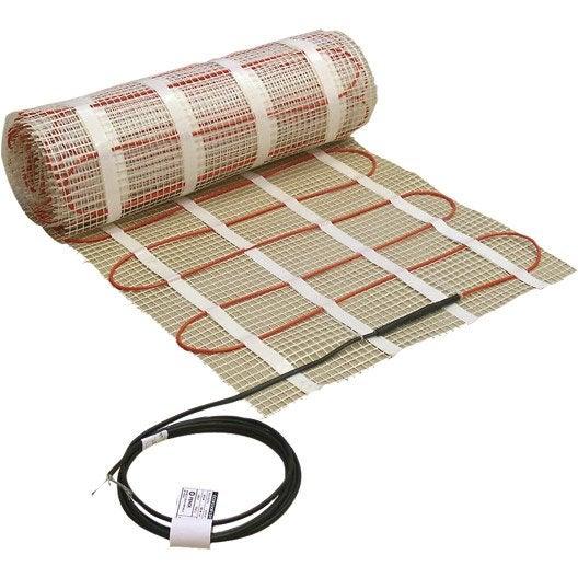 Sol chauffant lectrique sud rayonnement cable kit matt 900 w x c - Sol chauffant electrique ...