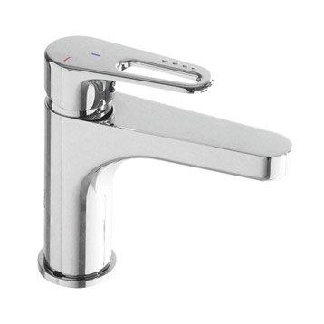 Mitigeur lavabo chromé, HUBER Gea