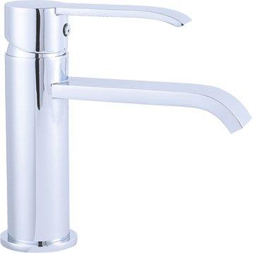 Mitigeur lavabo chromé, SENSEA Kimi