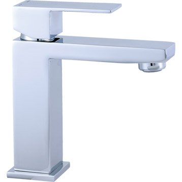 Mitigeur lavabo chromé, SENSEA Tely