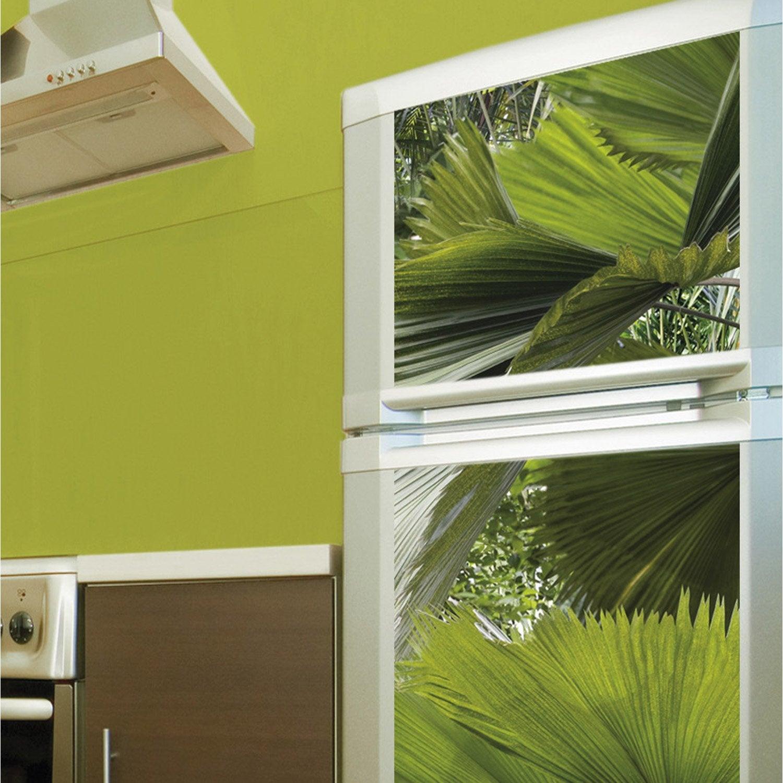 Sticker Réfrigérateur Tropical 59 5 Cm X 180 Cm