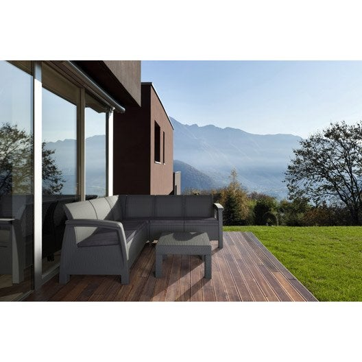 Awesome Salon De Jardin Bas Pvc Contemporary - Amazing House ...