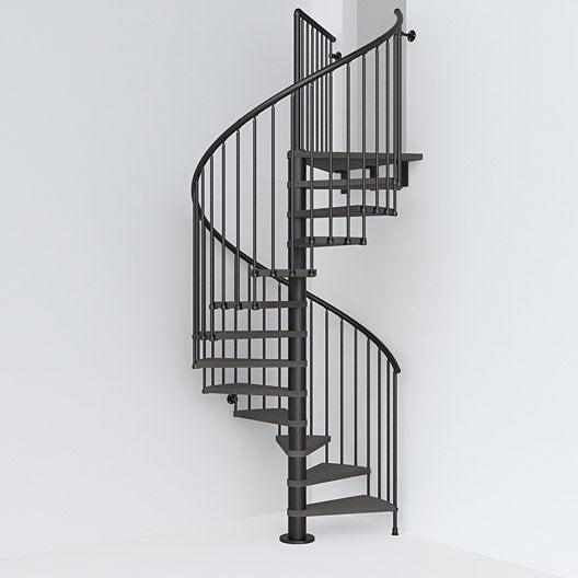Escalier escalier sur mesure au meilleur prix leroy merlin - Escalier exterieur colimacon prix ...