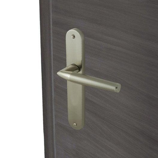 2 poign es de porte valena sans trou inspire aluminium. Black Bedroom Furniture Sets. Home Design Ideas
