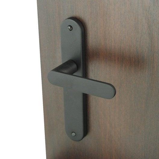 2 poign es de porte meudon sans trou inspire aluminium. Black Bedroom Furniture Sets. Home Design Ideas