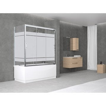 pare baignoire salle de bains leroy merlin. Black Bedroom Furniture Sets. Home Design Ideas