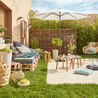 terrasse et jardin leroy merlin. Black Bedroom Furniture Sets. Home Design Ideas