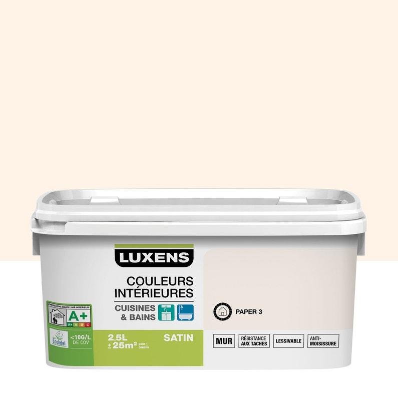 Peinture Couleurs Intérieures Luxens Paper 3 2 5 L
