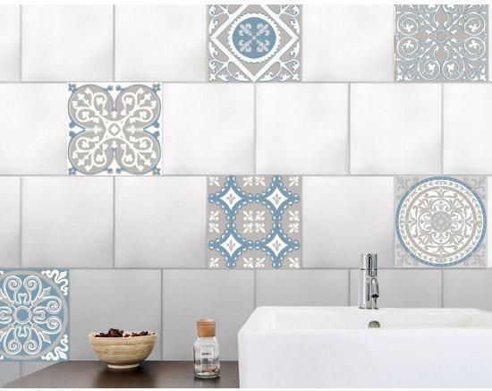 Stickers Adhesifs Carrelage Mur Ciment 91 Cm X 15 Cm Leroy Merlin