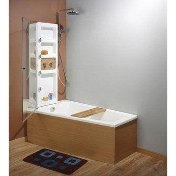 Baignoire porte baignoire douche salle de bains leroy merlin - Leroy merlin en belgique ...