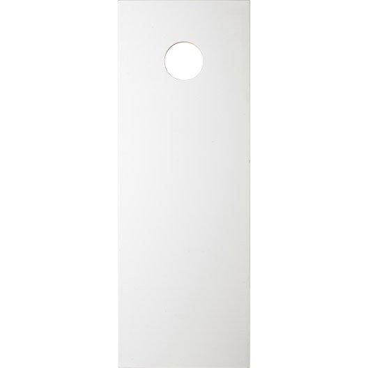 Porte coulissante isoplane x cm leroy merlin for Dimension porte 83