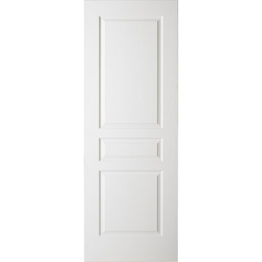 Porte coulissante postform e x cm leroy merlin for Porte interieure en 63 cm