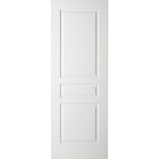 Porte coulissante postform e x cm leroy merlin for Porte 204x63