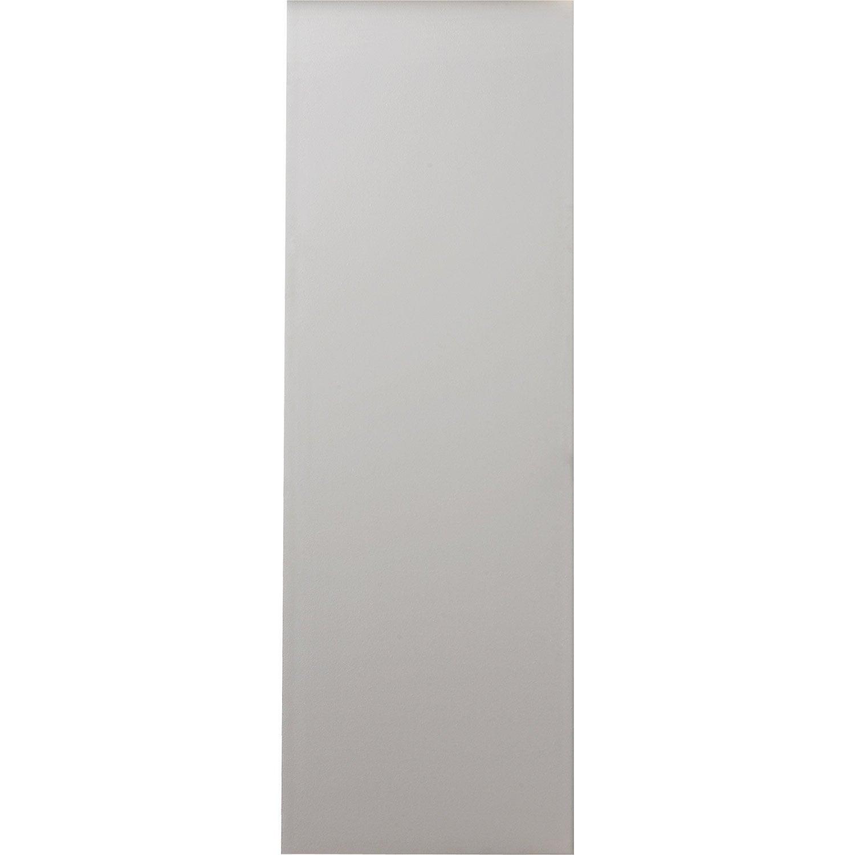 porte coulissante isoplane primo, h.224 x l.83 cm | leroy merlin