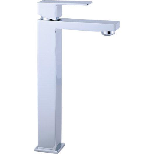 Mitigeur lavabo chromé, SENSEA Tely | Leroy Merlin