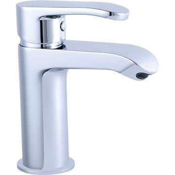 Mitigeur lavabo chromé, SENSEA Nory