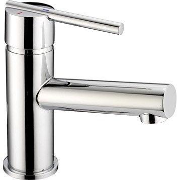 Mitigeur lavabo chromé, SENSEA Filea