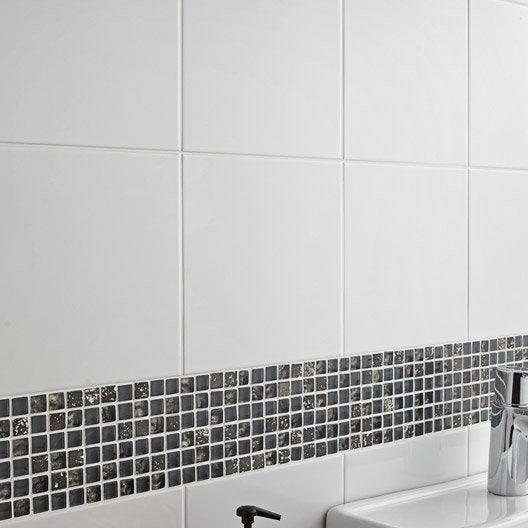 Carrelage mural et faïence pour salle de bains et crédence