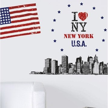 Stickers muraux autocollant leroy merlin - Cadre new york leroy merlin ...