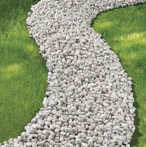 Jardin gravier blanc a sec avec du gravier deco jardin avec gravier blanc decorating ideas for Prix gravillon blanc pour allee