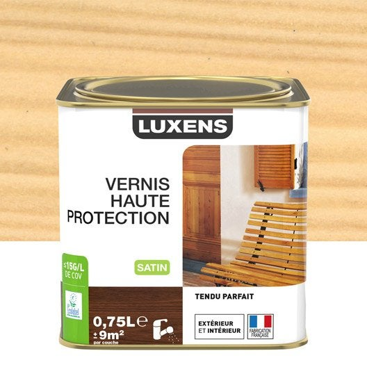 Vernis LUXENS Vernis ext luxens 0.75l satine incol 0.75 l, incolore