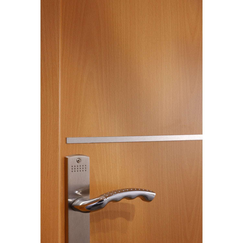 Lame de bois adhesive pour porte