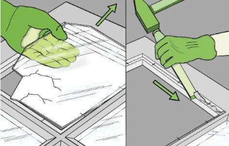 comment remplacer une vitre simple leroy merlin. Black Bedroom Furniture Sets. Home Design Ideas