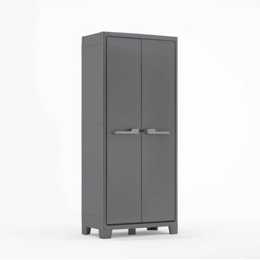 armoire de jardin r sine titan anthracite x x. Black Bedroom Furniture Sets. Home Design Ideas