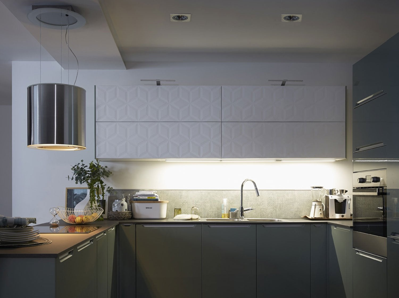 Kit ruban led 5m blanc chaud 3000k 1000 lumens flexled - Cuisine eclairage ...