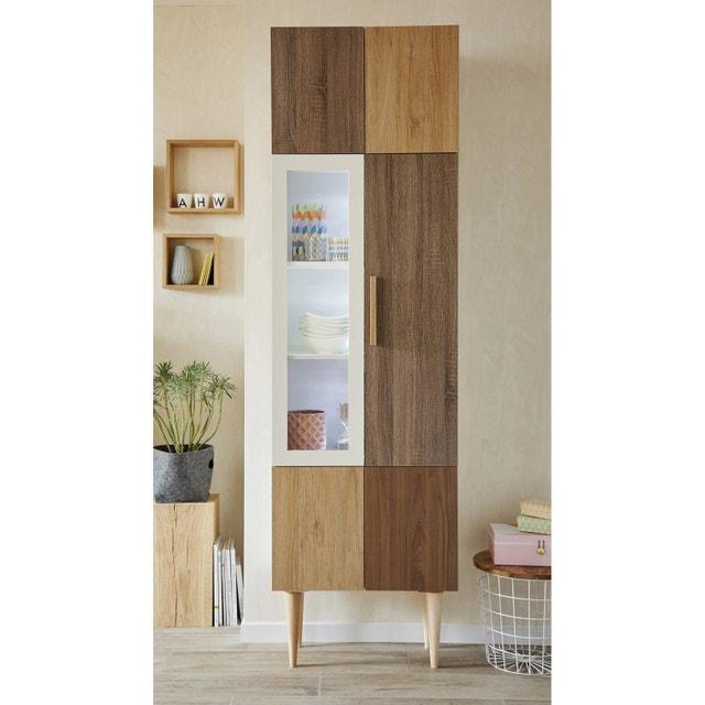 un salon mixant le scandinave et le vintage leroy merlin. Black Bedroom Furniture Sets. Home Design Ideas