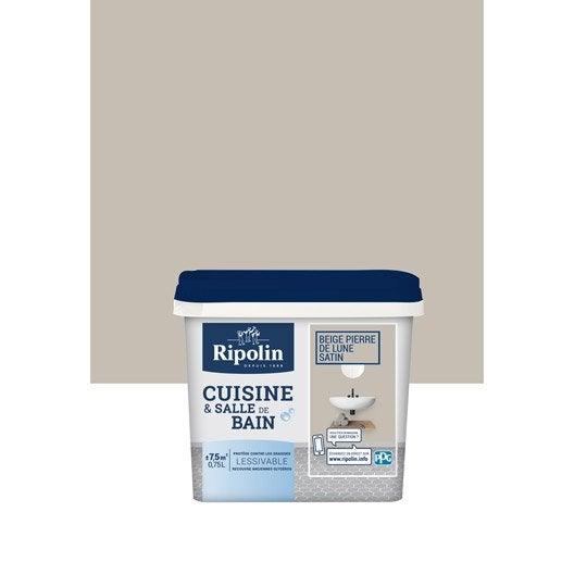 Ripolin leroy merlin for Peinture cuisine beige