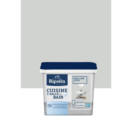 Ripolin leroy merlin for Peinture cuisine gris souris