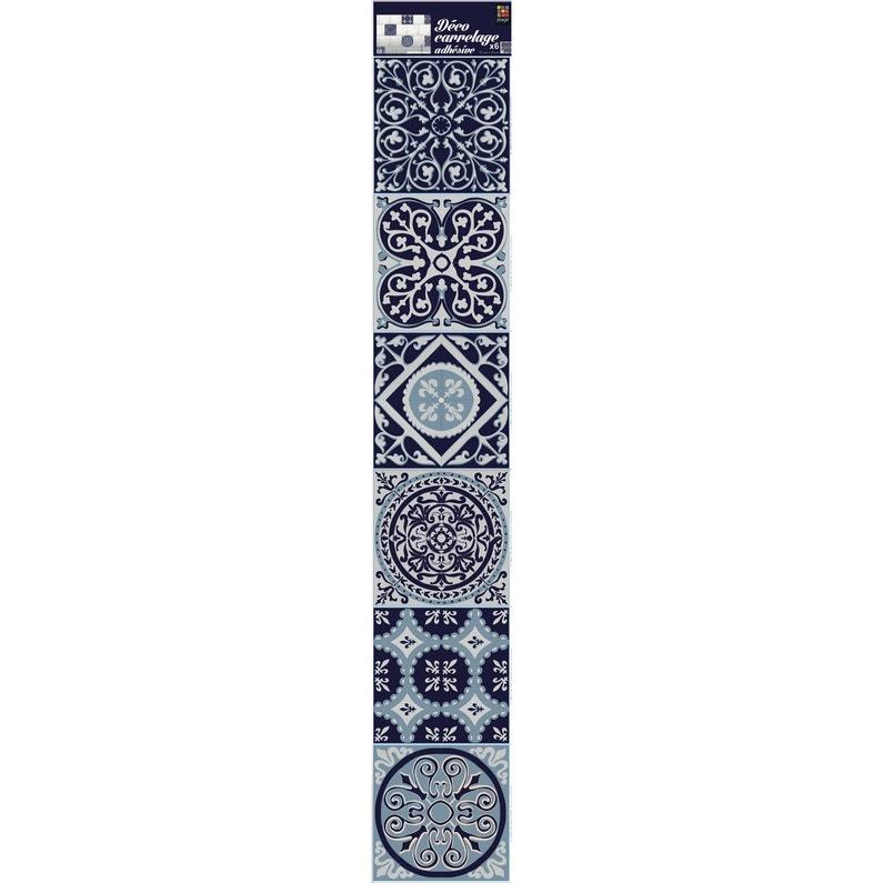 Stickers Adhésifs Carrelage Mur Carreaux De Ciment 15 Cm X 15 Cm